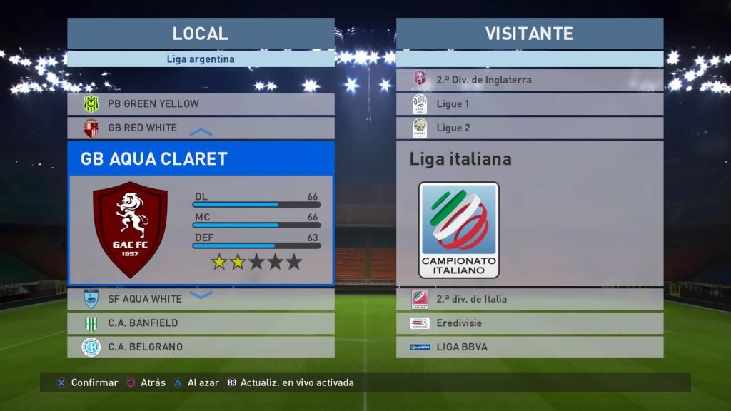 Fuerte ausencia de equipos licenciados en la Liga Argentina.