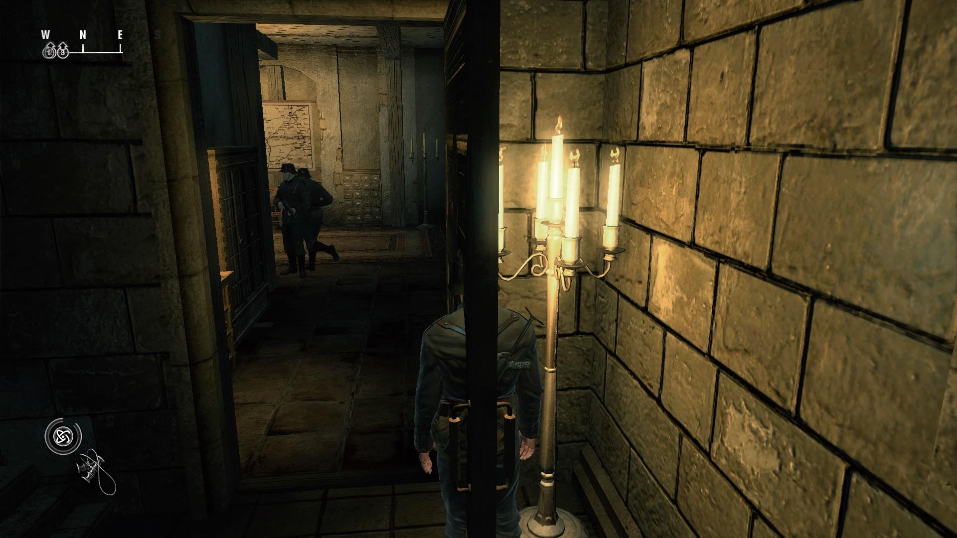 Una de las habilidades de nuestro super agente en su versión de PS4 (?)