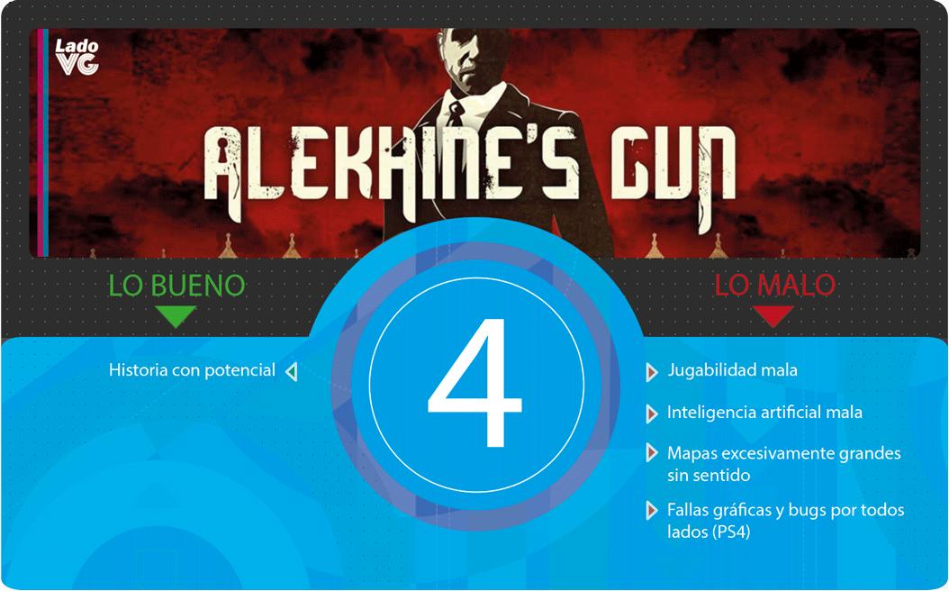 Alekhines Gun - Puntaje
