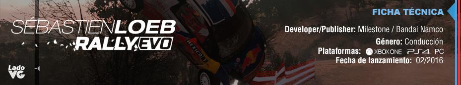 Sebastian Loeb Rally Evo - Ficha